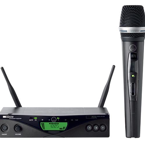 AKG WMS470 C5 SET BD1 50mW - Wireless handheld microphone system
