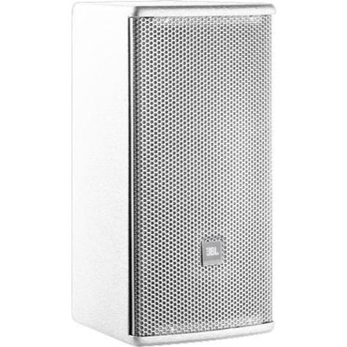 "Ultra Compact 8"" 2-Way Loudspeaker System, 120 x 60 Coverage, White"