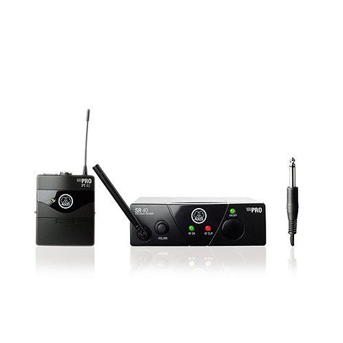 AKG WMS40 Mini Instrumental Set BD US45A Wireless Instrument Microphone