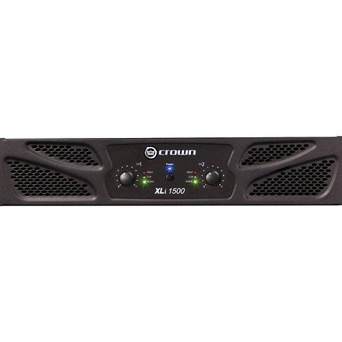 Crown XLi1500 Two-channel, 450W at 4�� Power Amplifier