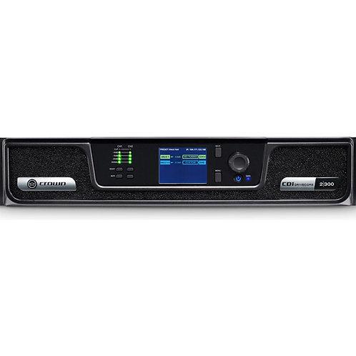 Crown CDi DriveCore 2 300 | 2 Channel 300 Watt 4 Ohm Power Amplifier