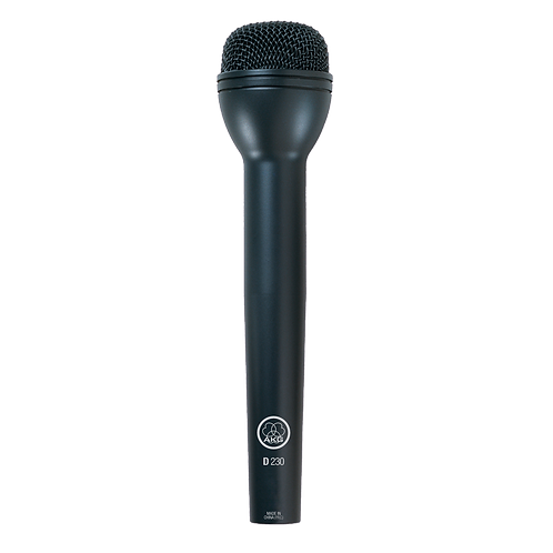 AKG Omni directional reporter's microphone