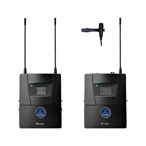 AKG PR4500 ENG Diversity bodypack receiver , PT4500 bodypack transmitter