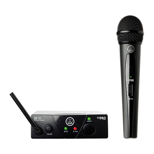AKG WMS40MINI Vocal Set BD US25B Wireless Microphone System