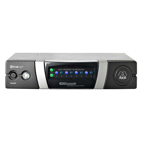 AKG Network concentrator for integrating DMS700, WMS4500 and IVM4500