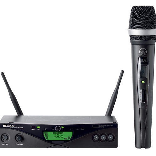AKG Wireless handheld microphone system,