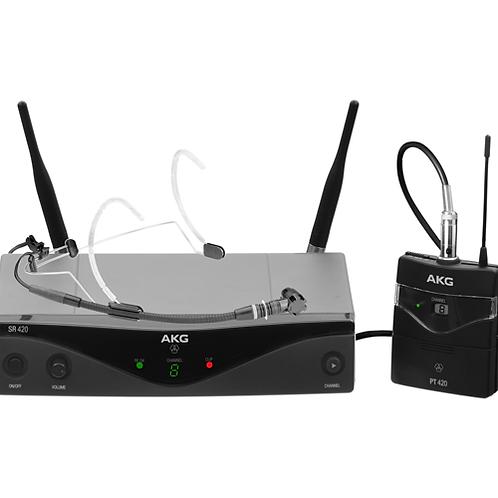 AKG WMS420 HEADWORN SET Band K Wireless Microphone System