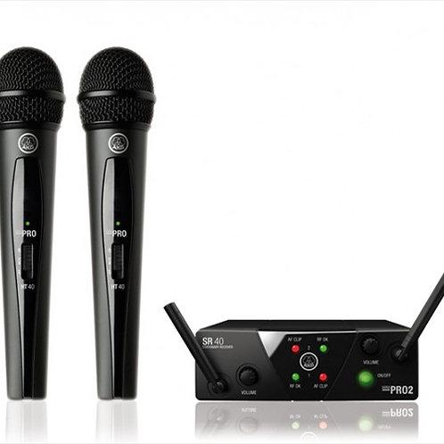 AKG WMS40 Mini2 Vocal Set BD ISM2/3