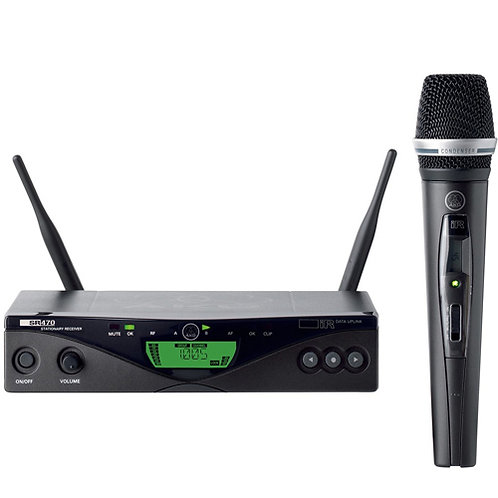 AKG WMS470 C5 SET BDM 50mW Vocal Set Wireless handheld microphone system