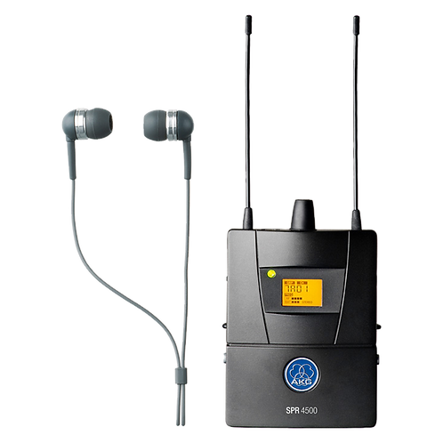 AKG SPR4500 IEM Diversity bodypack receiver with rugged metal housing