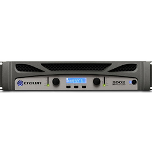 Crown XTi2002 Two-channel, 800W at 4�� Power Amplifier