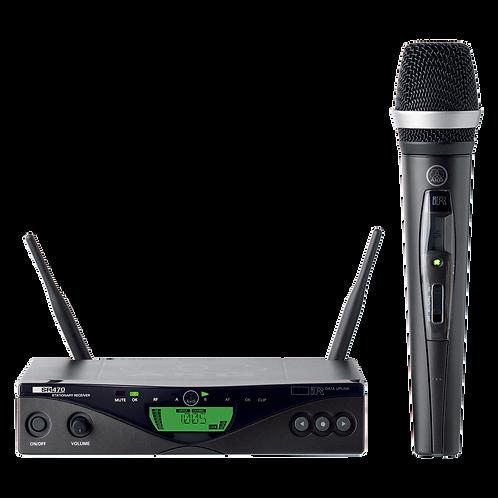 AKG Wireless handheld microphone system