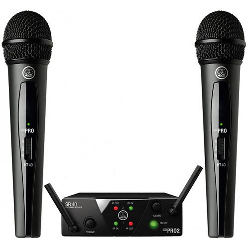 AKG dual wireless vocal /set