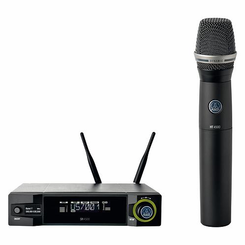 AKG Professional wireless system including SR4500, PT4500, MK GL