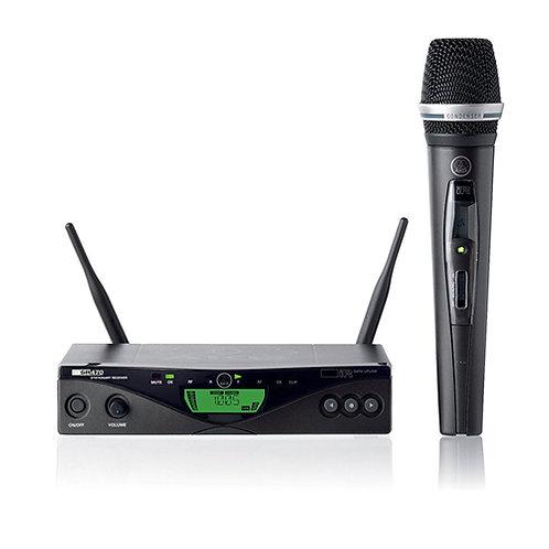 AKG Pro Audio WMS470 C5 SET BD9 50mW - Wireless Microphone System