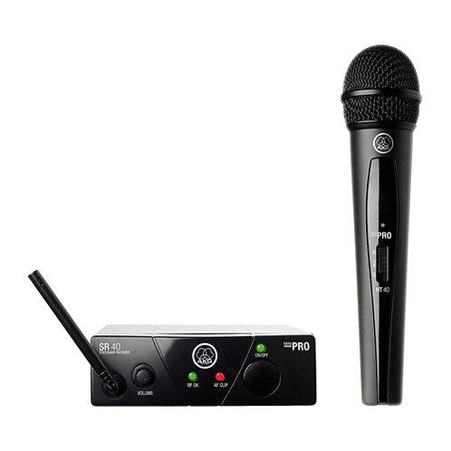 AKG WMS40MINI Vocal Set BD US25C Wireless Microphone System