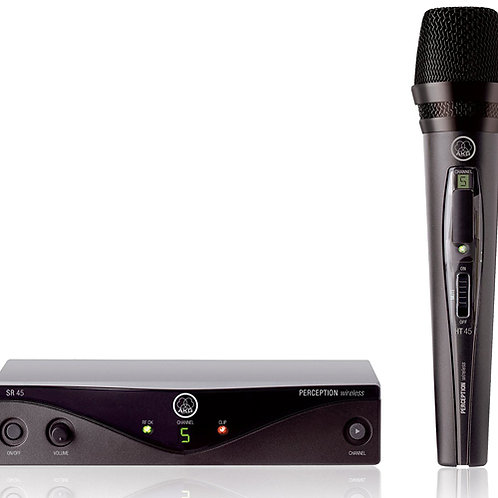 AKG Perception Wireless 45 Vocal Set BD A Wireless Microphone System
