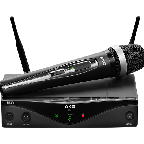 AKG WMS420 VOCAL SET Band U1 Wireless Microphone System