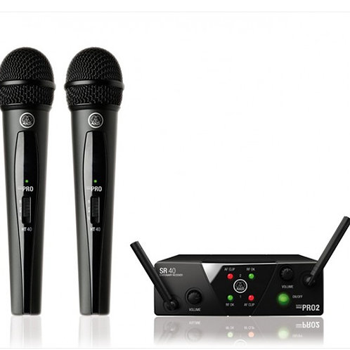 AKG WMS40 Mini2 Vocal Set BD ISM2/3 Wireless Microphone System
