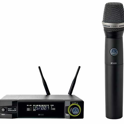 AKG Professional wireless system and SR4500, HT4500, D7 WL1, SA63, adapter