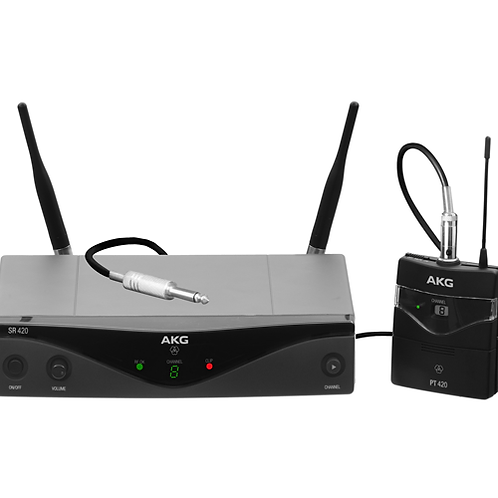 AKG WMS420 INSTRUMENTAL SET Band M Wireless Microphone System