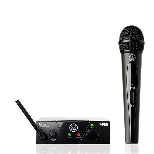 AKG WMS40 Mini Vocal Set BD US45B Wireless Microphone System