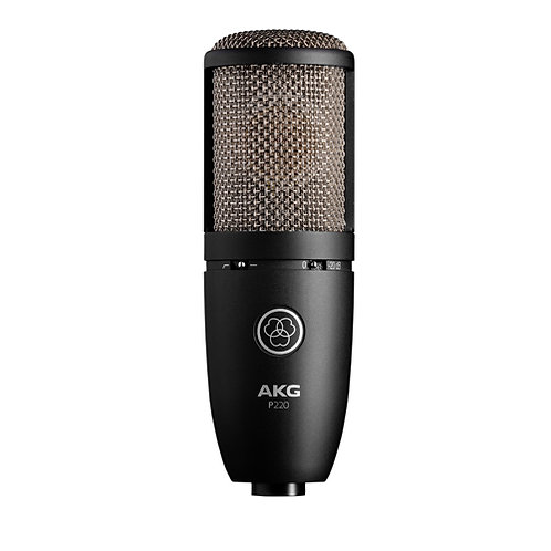 AKG P220 High-Performance Vocal Condenser Microphone