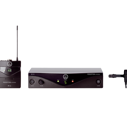 AKG Perception Wireless 45 Presentation Set Wireless Microphone  Band B1