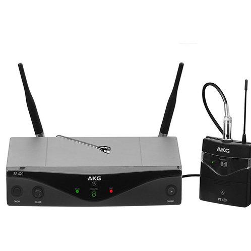 AKG WMS420 PRESENTER SET Band K Wireless Microphone System