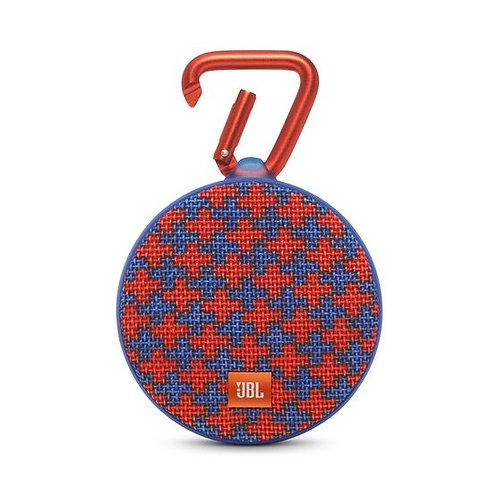 JBL Clip 2 Waterproof Portable Bluetooth Speaker (SQUAD)