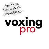Démos voix sur Voxing Pro