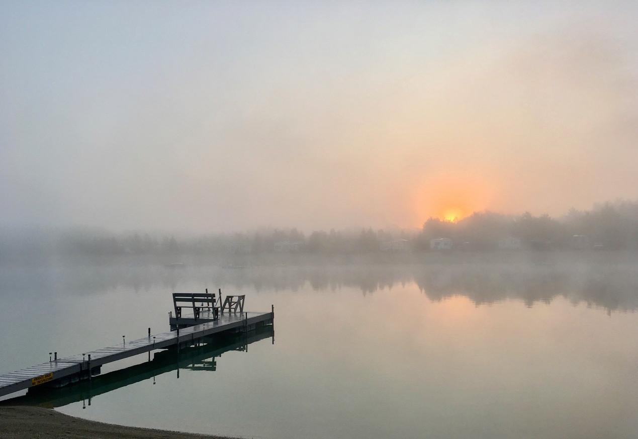 HM - Fog on Lake