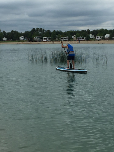 Paddle Board trials on Canada Day