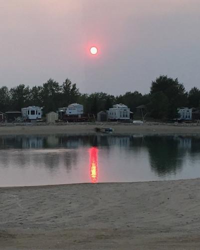 Sunset at CherryHill Living