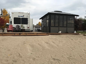 Site with Gazebo and other extras