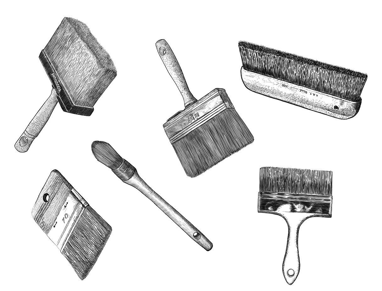 Anne,Royant,Peintre,Décors,patines,matiérage,publicité,fresque,illustration