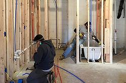 Bath & Wet Bar install in basement.jpg
