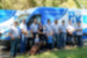 Pike plumbing team - professional accredited licensed plumbers with workvans