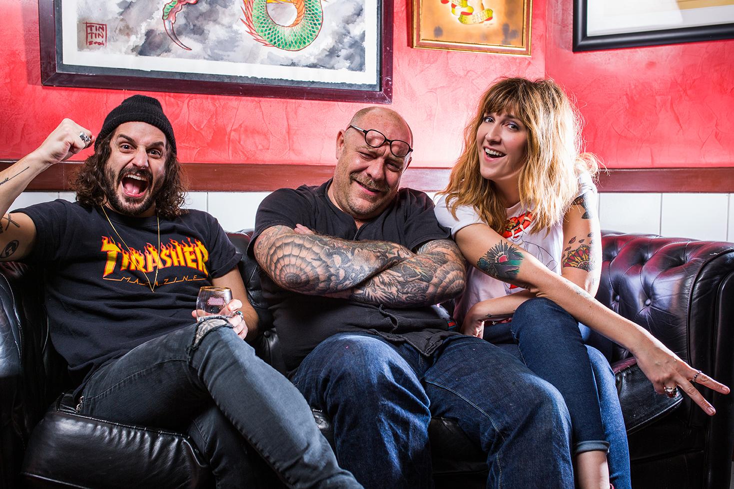 Les parrains du Mondial du tatouage
