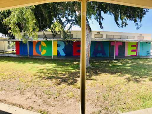 AT&T helps bring a splash of color to Mark Twain Middle School