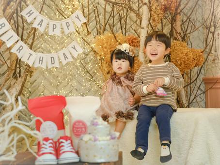 なつきちゃん*1歳のお誕生日*