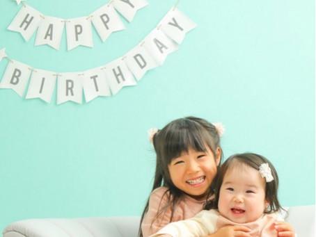 ユイカちゃん*1歳のお誕生日*