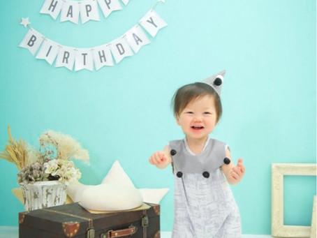 ミズハちゃん*1歳のお誕生日*