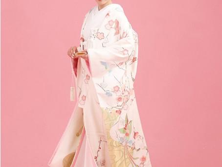 ウエディングフォト 人気のピンク打掛(ピンク系色打掛)