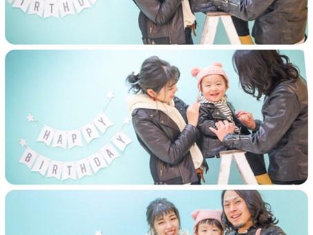 ユウセイくん*2歳のお誕生日*
