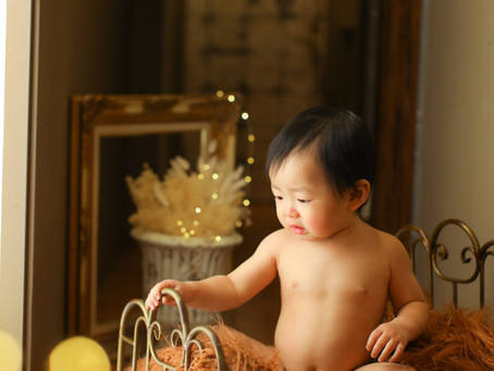 れんやくん*1歳のお誕生日*