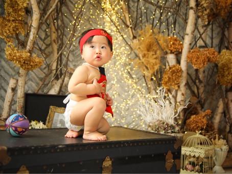 ユキヤくん*1歳のお誕生日*