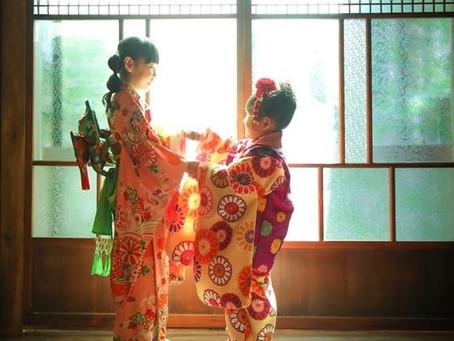 ユキノちゃん&リサちゃん*七五三記念*