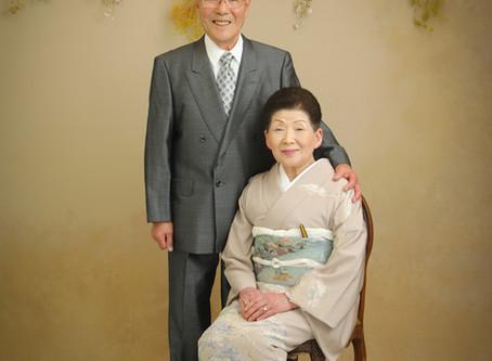 *結婚60周年*