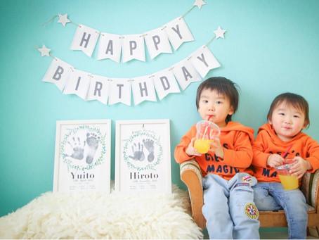 ヒロトくん*1歳のお誕生日*